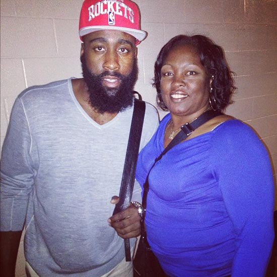James Harden's Mom is a Beast
