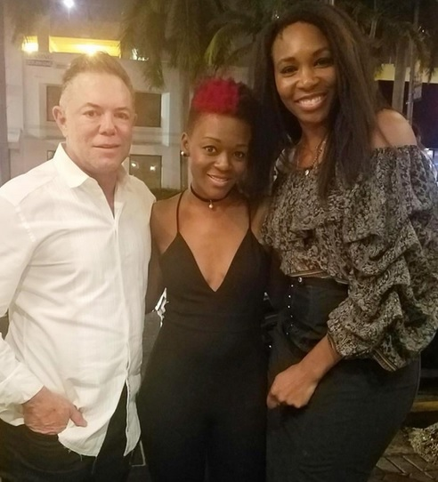 Venus Williams Gets the Star Treatment at South Beach Steakhouse the Forge