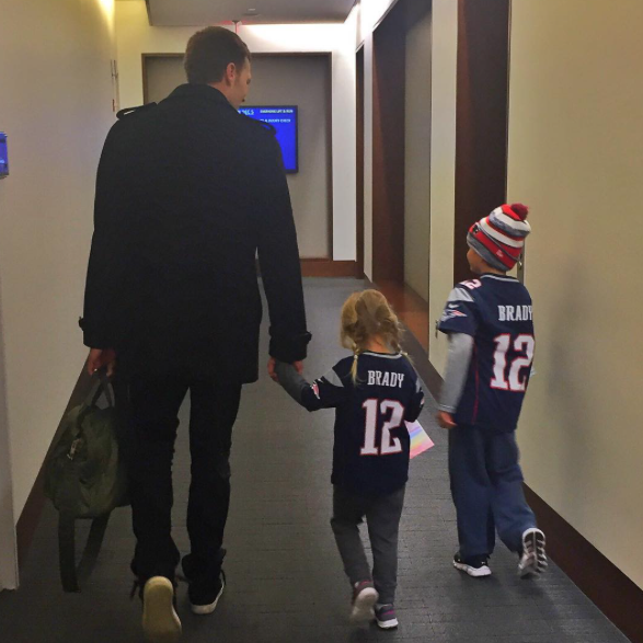 How Tom Brady Celebrates His 201st Win In The NFL