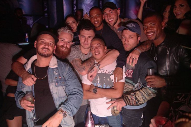 Johnny Manziel Celebrates 24th Birthday In Miami