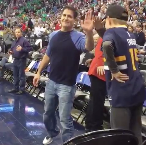 Mark Cuban Gets Dabbed On