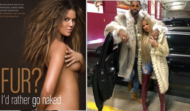 Tristan Thompson's Groupie Can't Make Up Her Mind About Fur