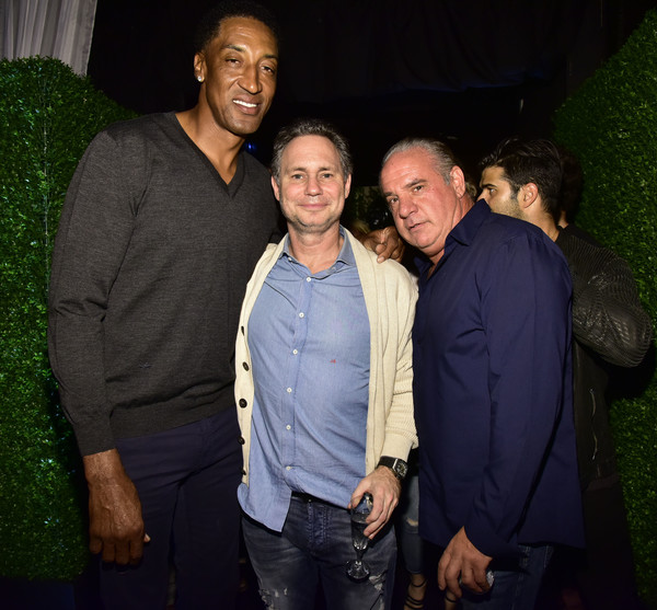 Scottie Pippen on the Prowl during Art Basel