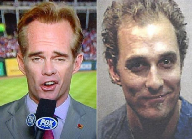 Joe Buck Wanted Hair Plug Advice From Matthew McConaughey