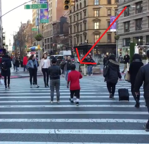 Mini-baller Delivers Vicious Crossover on Pedestrian
