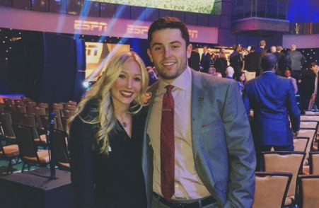 "Baker Mayfield Took Home ""The Best Trophy"" Of The Night After The College Football Awards"