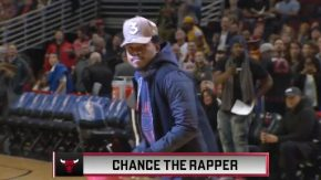 Chance The Rapper Played Dodgeball With Mascots