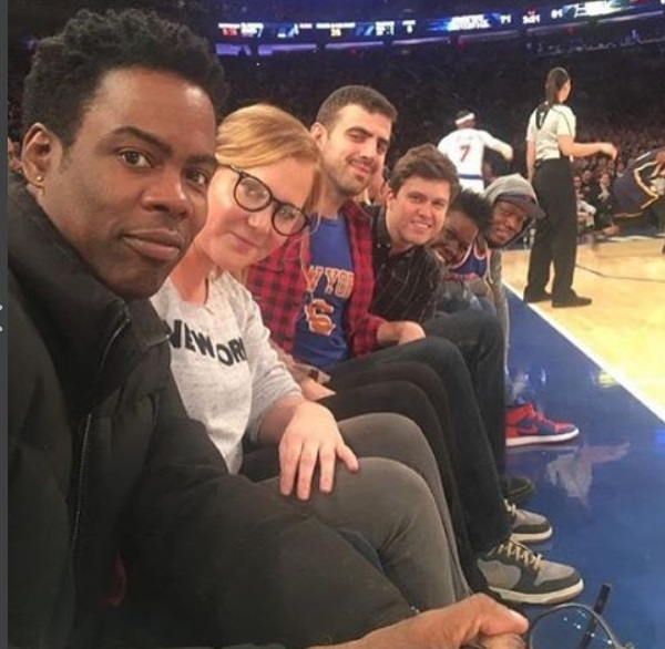 Comedians Take Over Courtside at MSG