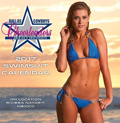 Dallas Cowboys Cheerleader Calendar Will Help Distract You From Their Loss