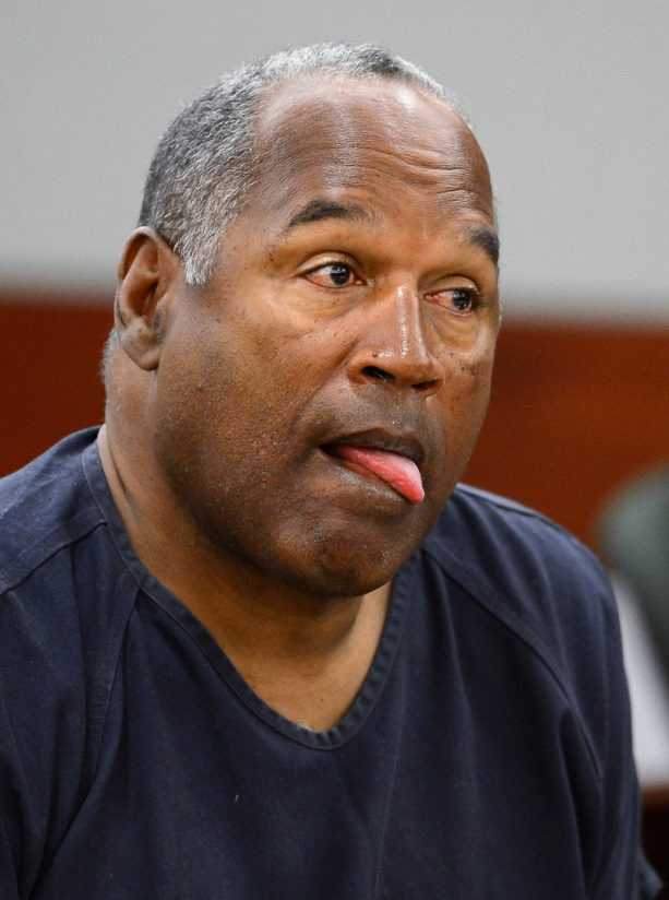 OJ Simpson Crapped himself on Christmas Day?