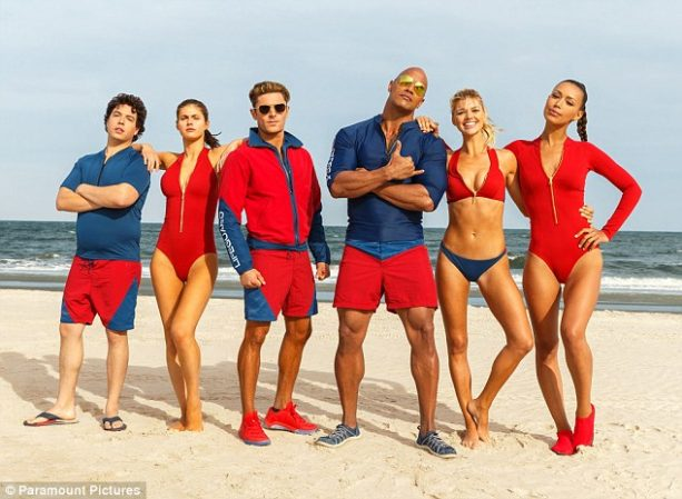 Baywatch Teaser Starring The Rock