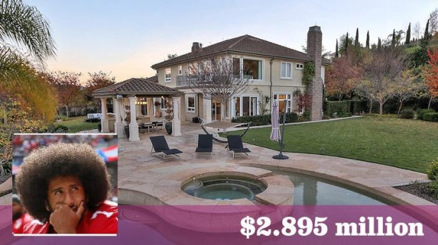 Take a Look Inside Colin Kaepernick's House that is up for Sale