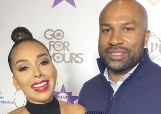Derek Fisher and Gloria Govan Hit up a Celeb Toy Drive