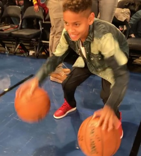 Carmelo's Son Just Like His Dad, Ball Hogs