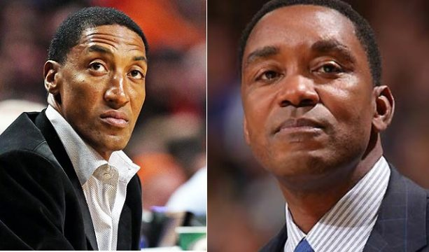 Isiah Thomas Goes All in on Scottie Pippen