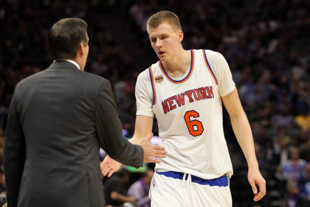 Kristaps Porzingis's Jersey Rebellion is REAL