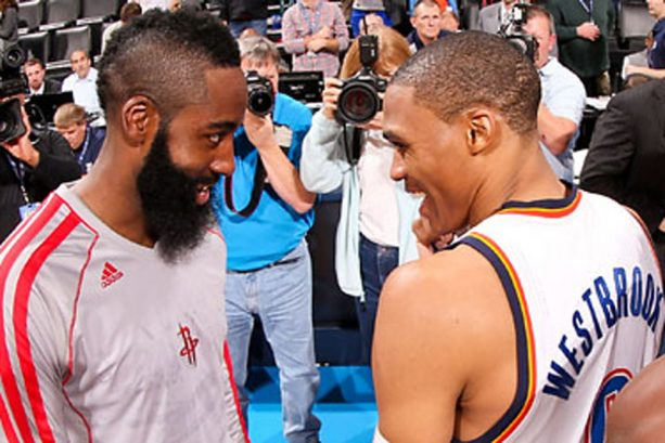 The James Harden Russell Westbrook Turnover Race is Heating Up