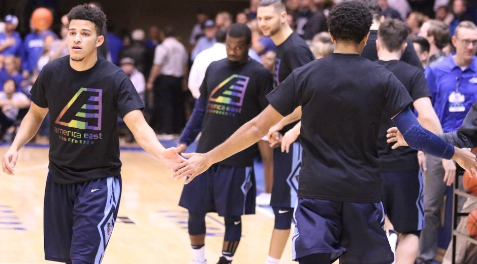 Maine Players Wore Rainbow Warmup Shirts To Protest North Carolina's HB2 Law