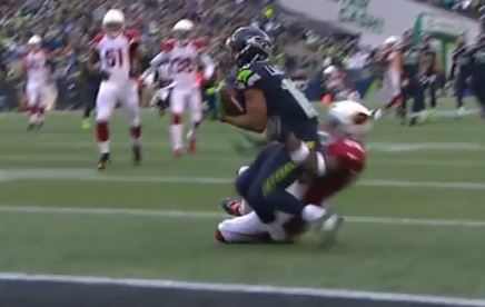 Tyler Lockett's Leg Snaps In Two As He Makes A One Handed Catch