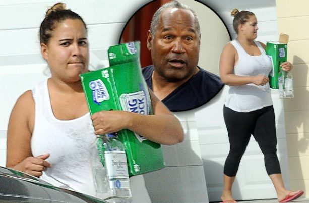 OJ's Daughter Not Khloe Going HAM With Booze?
