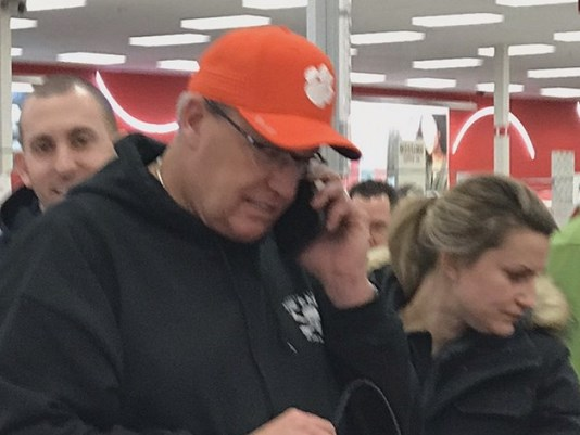 Rex Ryan Spotted at Target