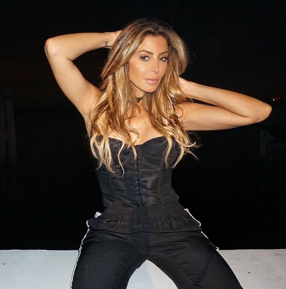 Larsa Pippen Goes Hard to the Hole at Hater