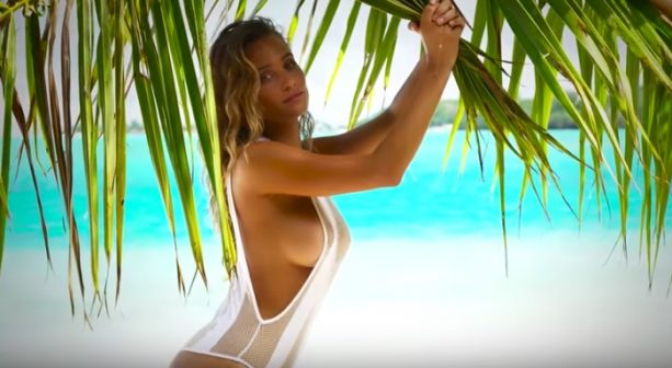 Hannah Davis Takes It Off In Tahiti | Intimates | Sports Illustrated Swimsuit