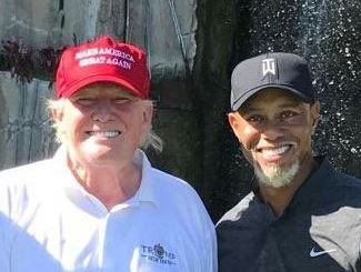 Tiger Woods And Donald Trump Did Indeed Play Golf On Friday