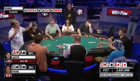 Poker Player Raises $70K Before He Even Sits Down At Table