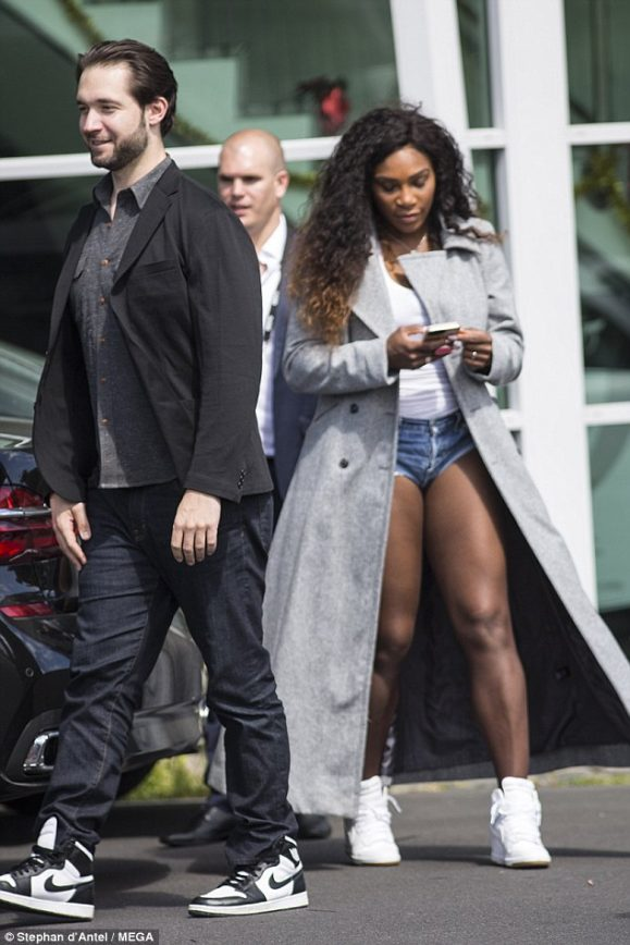 Serena Williams Out and About With Future Hubby