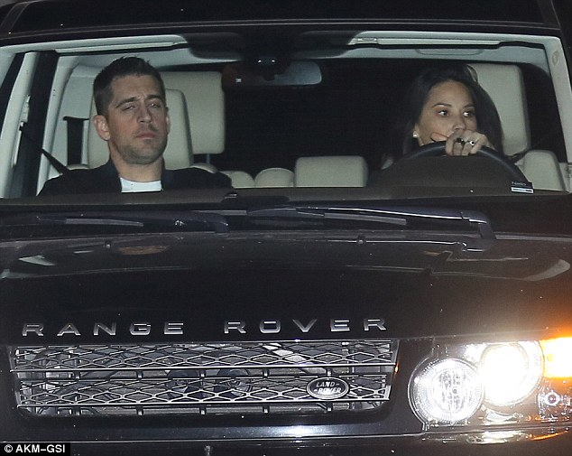 Olivia Munn and Aaron Rodgers Spotted with Promise Ring