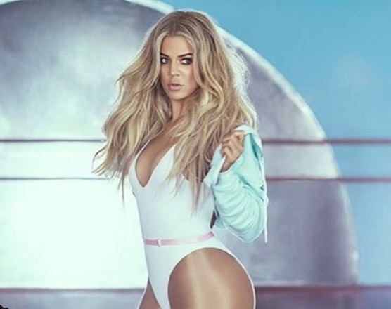 NBA Groupie Khloe Kardashian's Sizzling New fitness Campaign