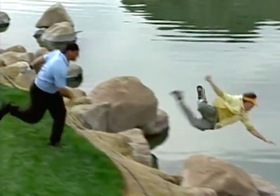 Don't Mess With Bill Goldberg On The Golf Course