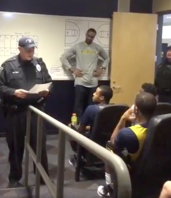 Michigan Cops Surprise Basketball Player With Scholarship