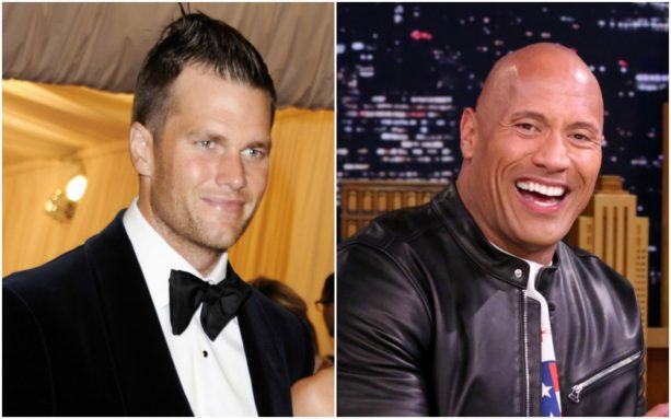 Tom Brady's Impression of the Rock Isn't Great