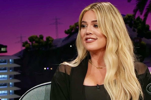 Khloe Confesses Her Love For Tristan Thompson on Late Night Talk Show