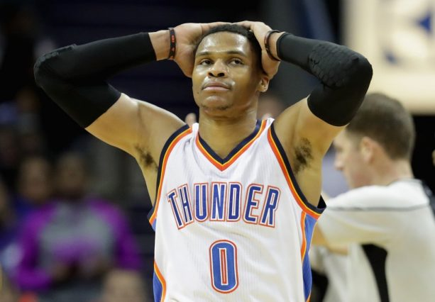 Russell Westbrook Hit a Referee in the Head