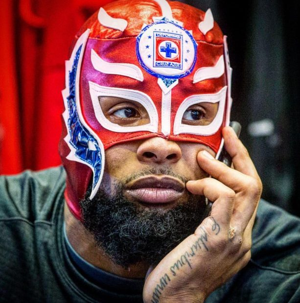 Odell Beckham Dons the Mexican Soccer Club Mask