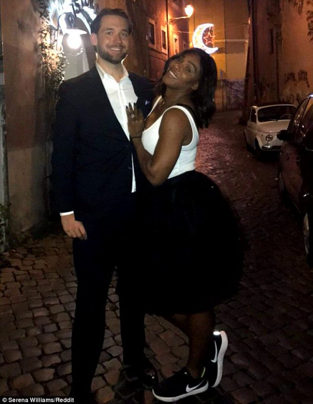 Serena Williams Shows Off Her New Engagement Ring