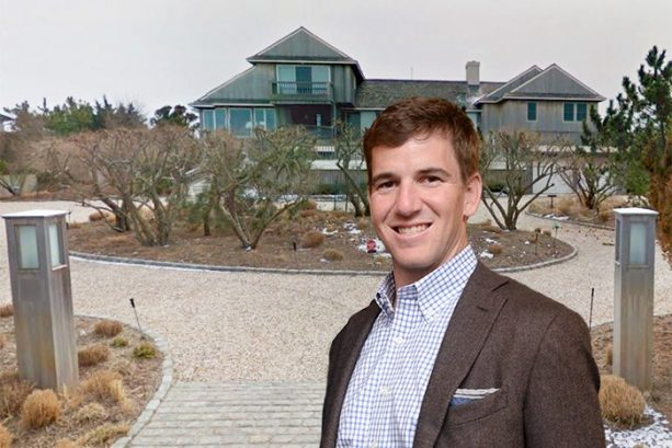 Eli Manning Buys Hamptons Beach House for $8.5 Million