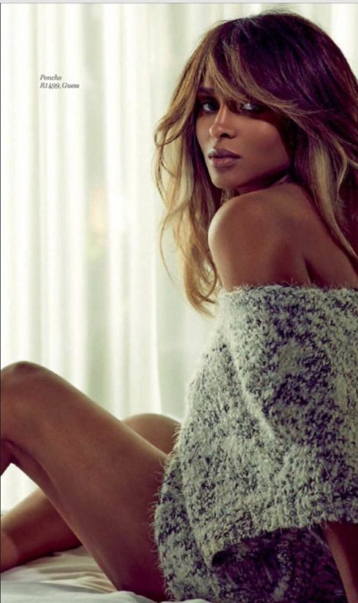 Ciara Rebounds after Playoff Loss with Magazine Cover