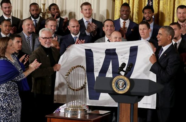 The 2016 World Series Champion Chicago Cubs Visit The White House