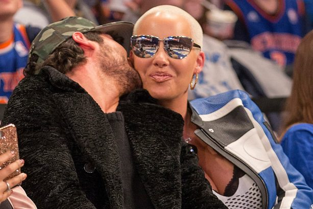 Amber Rose and Boyfriend Make it Official on the Jumbotron