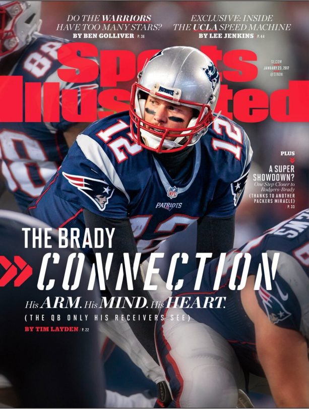 Tom Brady's Sports Illustrated Cover is Un-Jinxable