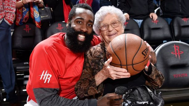 James Harden is A Friend to the Elderly