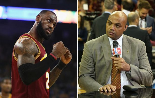 LeBron James Tears into Charles Barkley