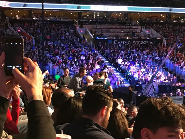 Ex Boyfriend To UFC Still Hanging Out At Events