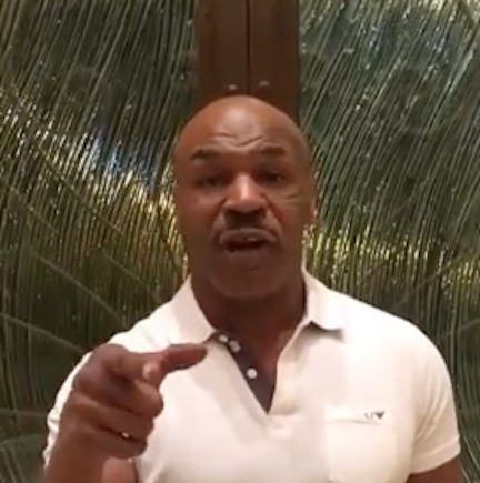 Mike Tyson Confirms He Is Training Chris Brown & Fires Shots At Soulja Boy & Floyd Mayweather!