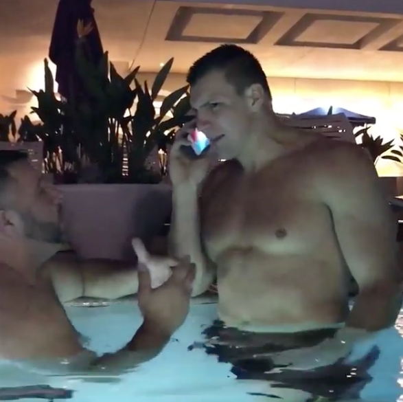 Gronk Stars In Instagram Comedy Skit