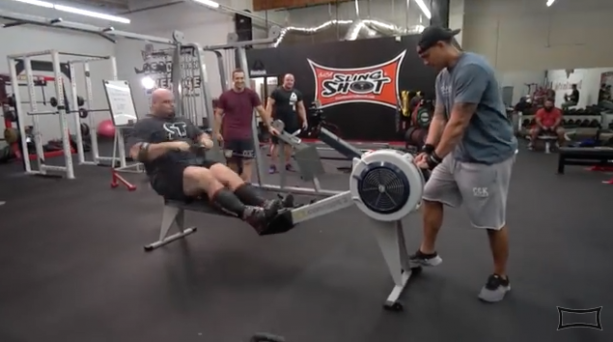 World's Strongest Man Brian Shaw Takes 100M Rowing Record